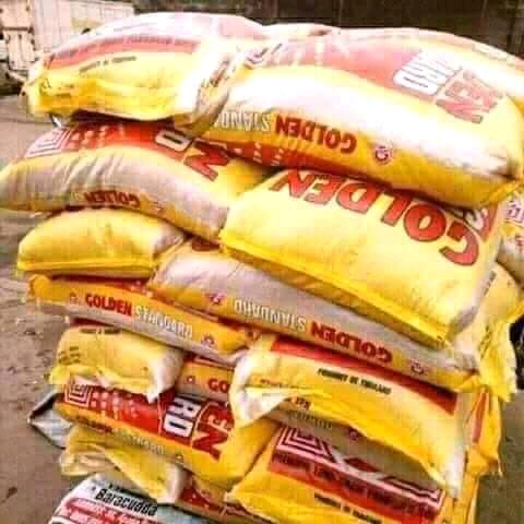 50 kg bags of rice available for sale